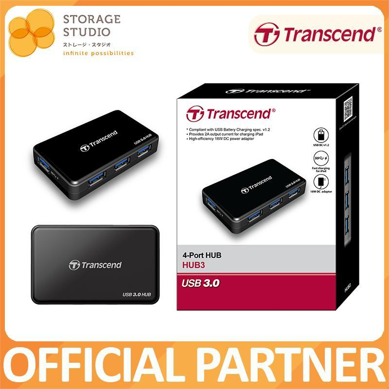 Transcend HUB3 SuperSpeed USB 3.0 Hub