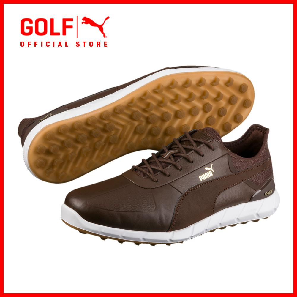 Store Puma Golf Men Ignite Spikeless Lux Footwear Footwear Chestnut Puma Golf On Singapore