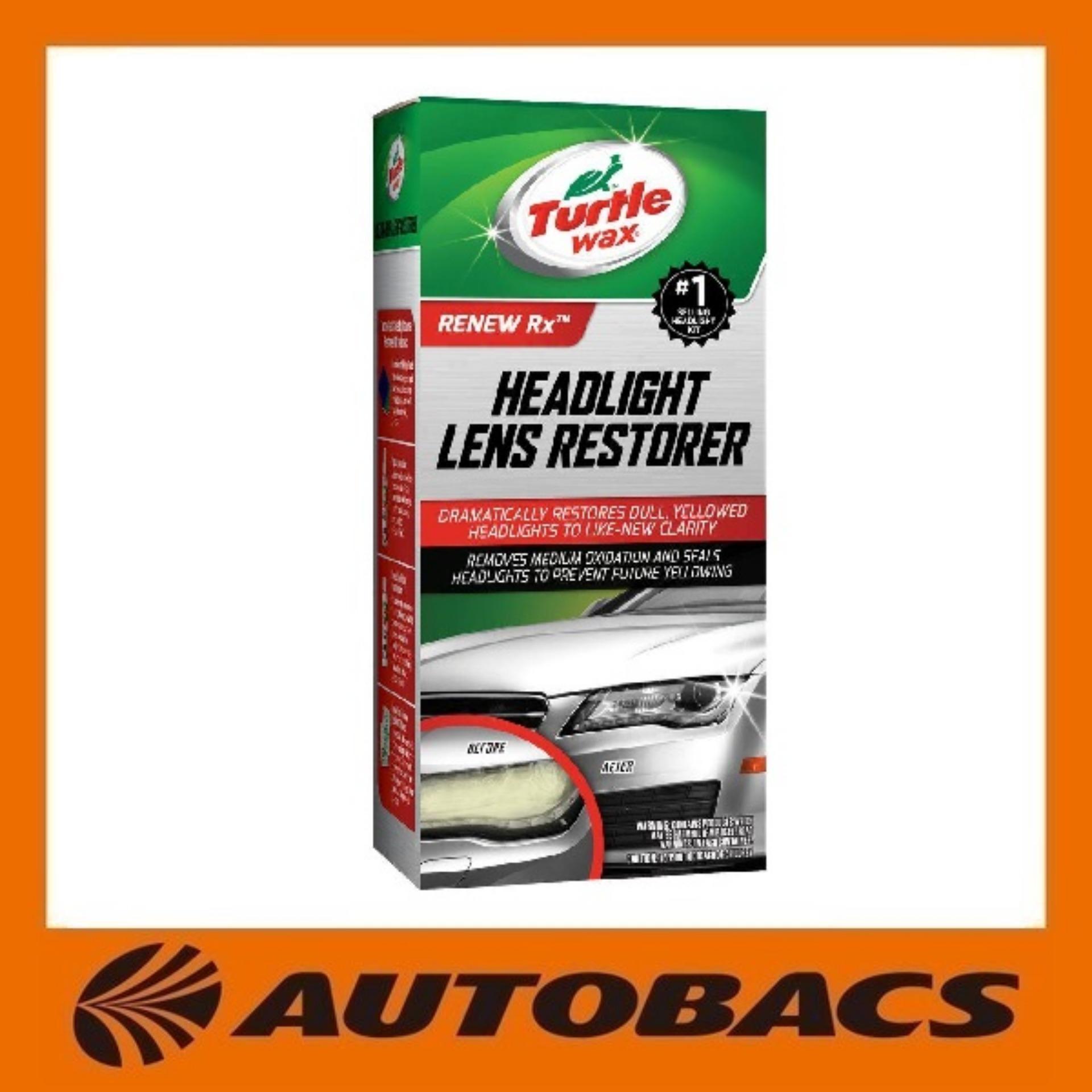 Top Rated Turtle 1066233800007 Headlight Lens Restorer Kit