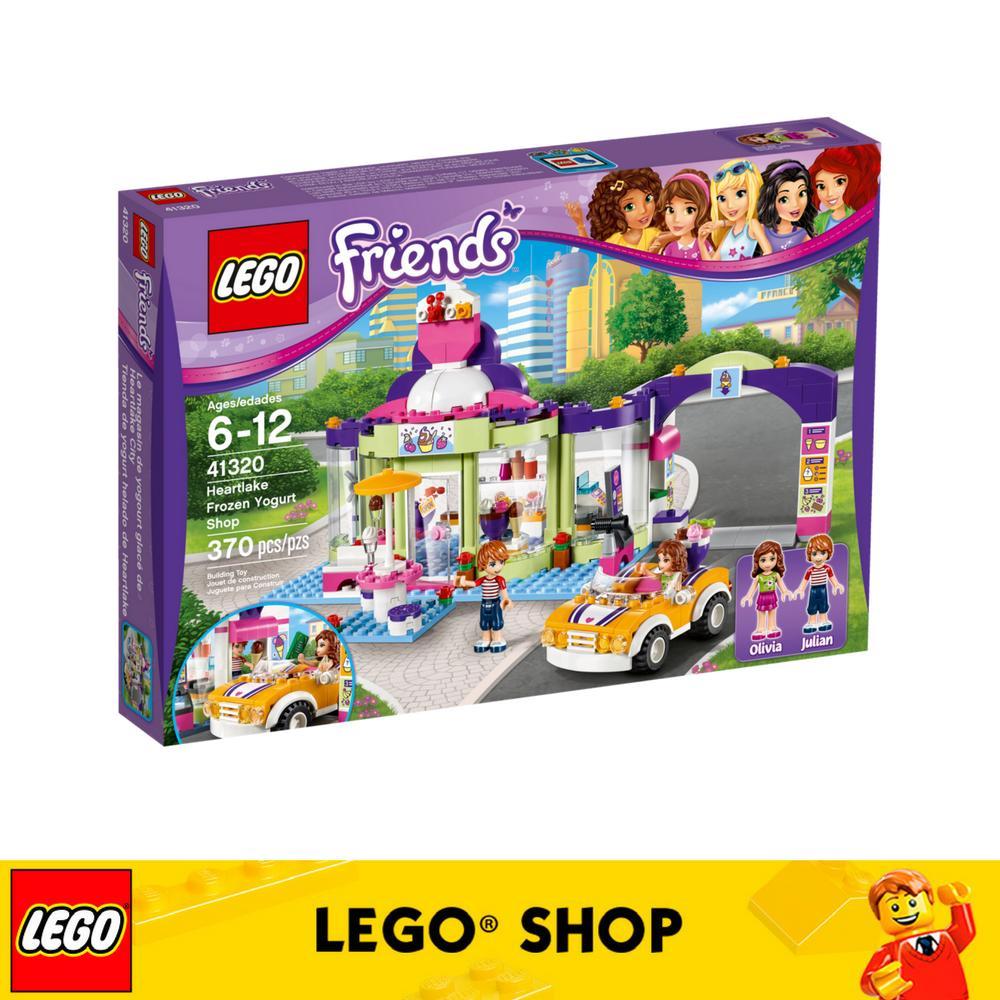 Discount Lego® Lego Friends Heartlake Frozen Yogurt Shop 41320 Lego Singapore