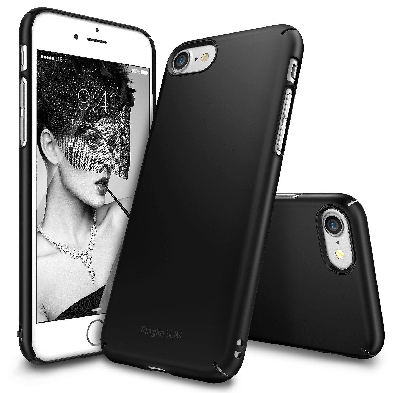 Who Sells Ringke Slim Extremely Thin Lightweight Case For Iphone 7 Iphone 8 Sf Black Cheap