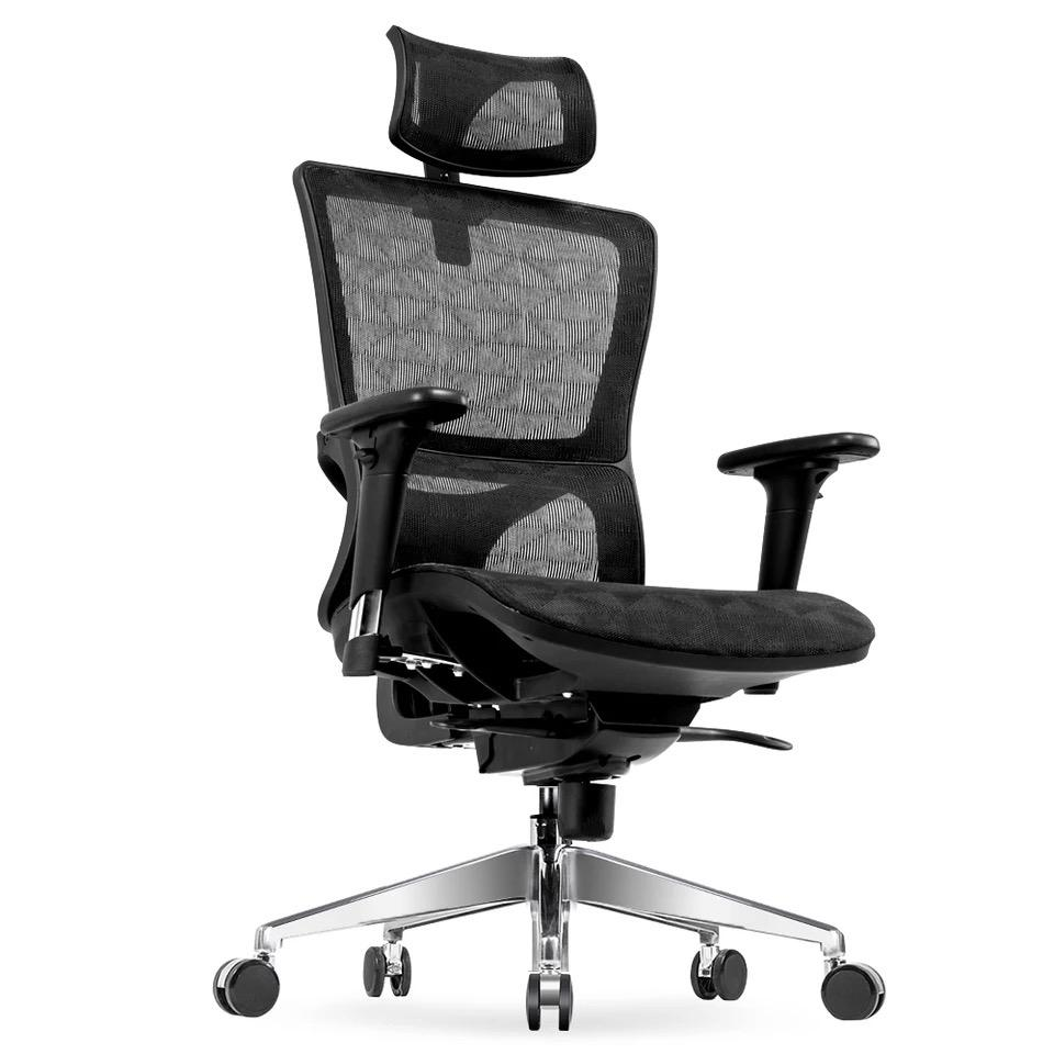 Discount Umd Ergonomic High Back Reclinable Mesh Office Chair With Adjustable Armrest Headrest