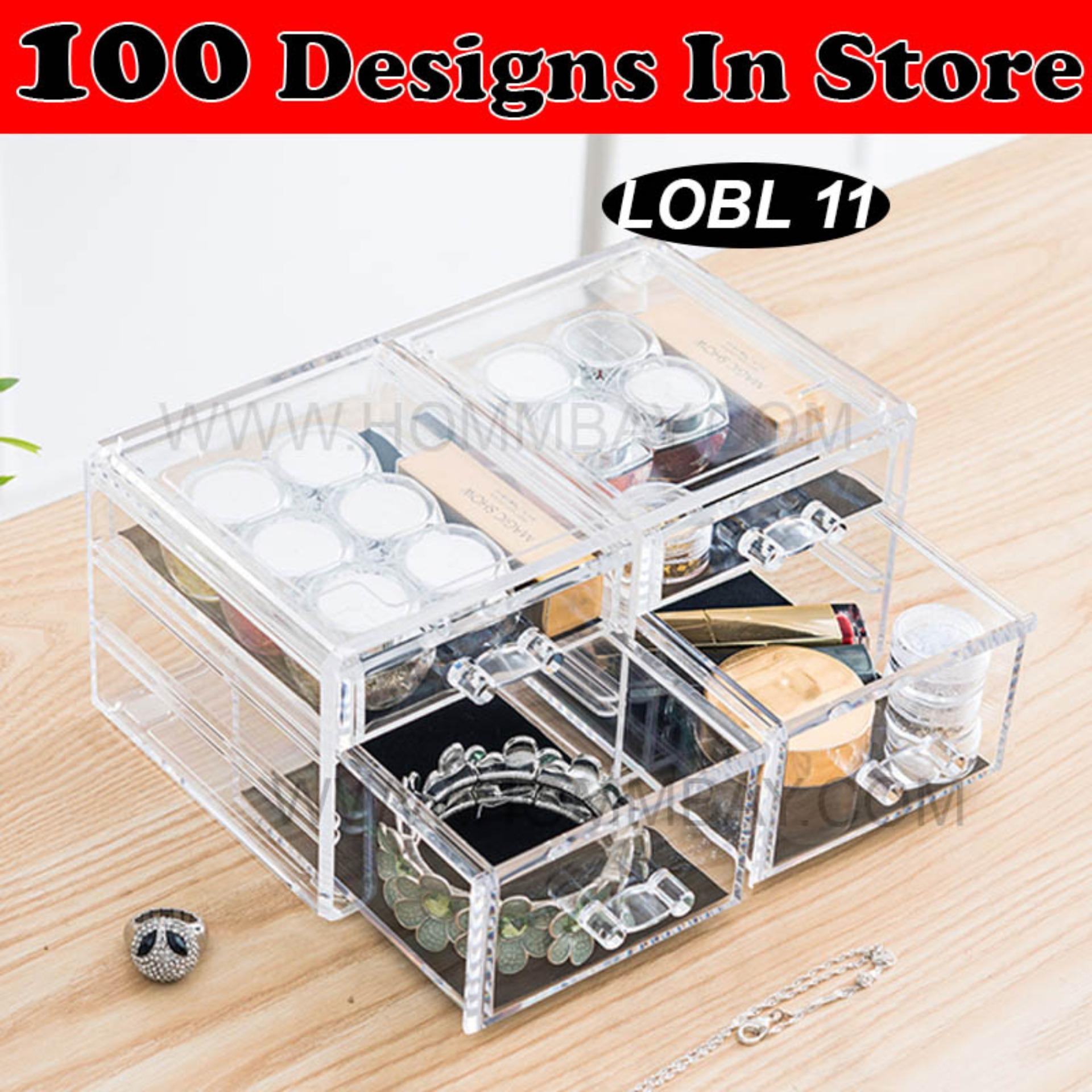 Who Sells Clear Acrylic Transparent Make Up Makeup Lipstick Brush Brushes Cosmetic Jewellery Jewelry Organiser Organizer Drawer Storage Box Holder I Large I Stackable I Lobl 11 The Cheapest