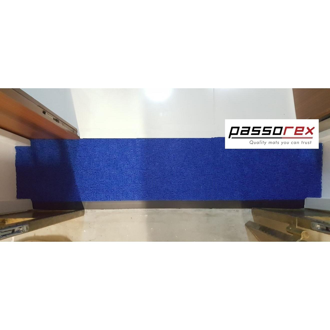 Review Passorex Door Gap Coil Mat With Rubber Edge Prxdgme1202913 Blue On Singapore