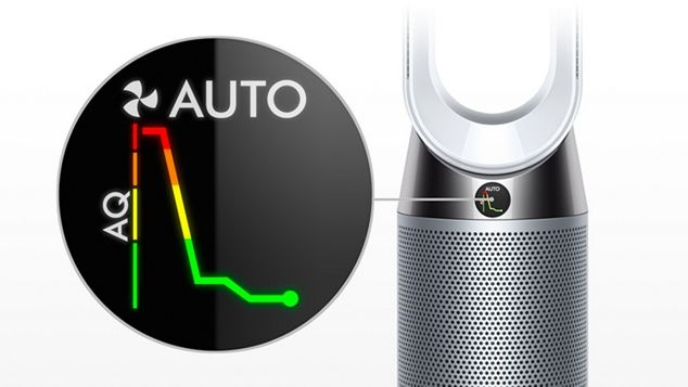 Dyson Senses pollutants in real time