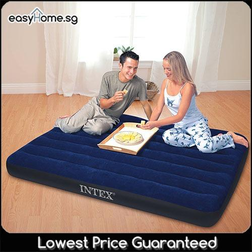 Intex Airbed 68758 Queen - Inflatable Mattress