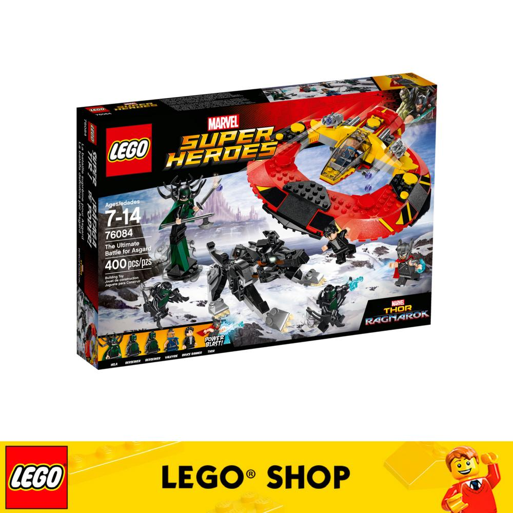 Sale Lego® Super Heroes The Ultimate Battle For Asgard 76084 Lego Branded