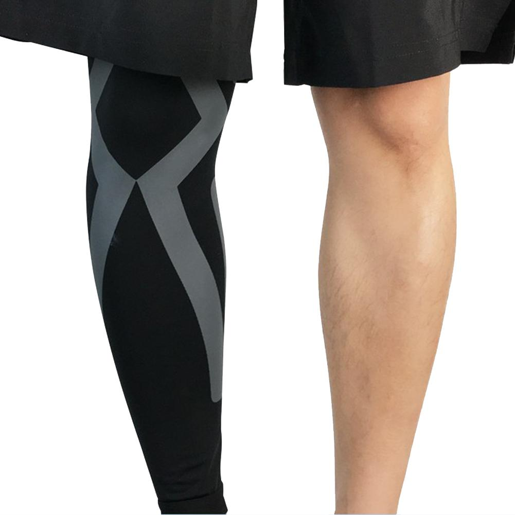 Knee Pads Compression Long Leg Sleeve Protector Gear Breathable Crashproof Antislip Basketball Protective Pad Support Guard for Running Riding Walking Fitness