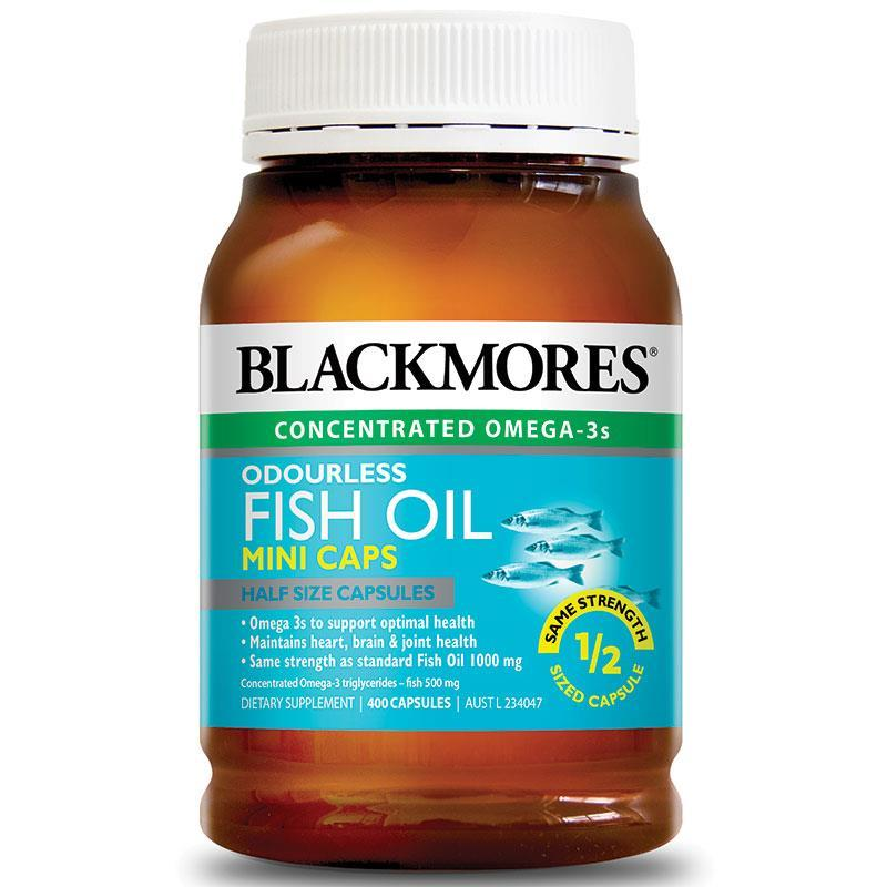 How To Buy Blackmores Odourless Fish Oil 400 Mini