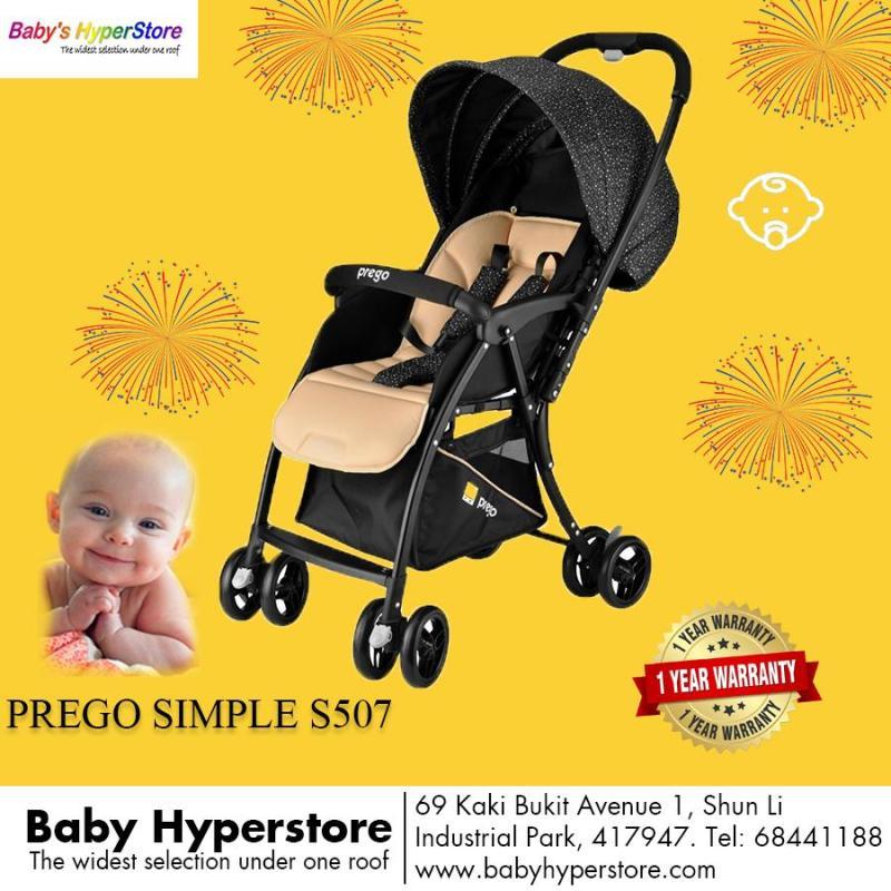 Prego S507 Simple Reversible Handle Stroller Singapore