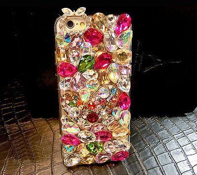 BLING Berlian Kristal Permata Imitasi Kembali Casing Ponsel Cover untuk Vivo V11 (V11 Pro) ...