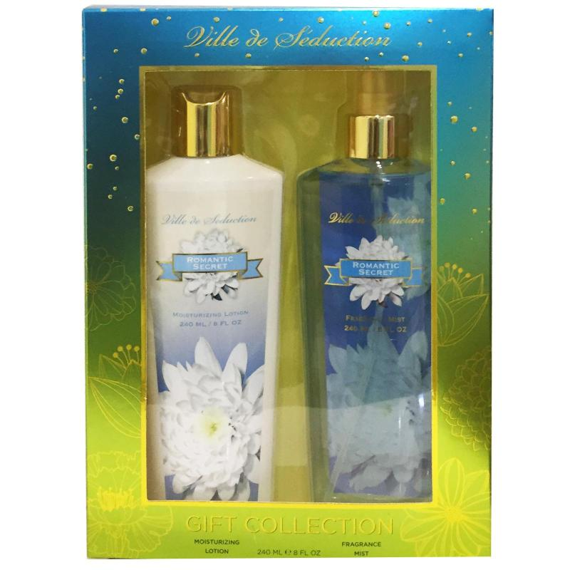 Buy ROMANTIC SECRET VILLE DE SEDUCTION GIFT SET 240ML EACH Singapore
