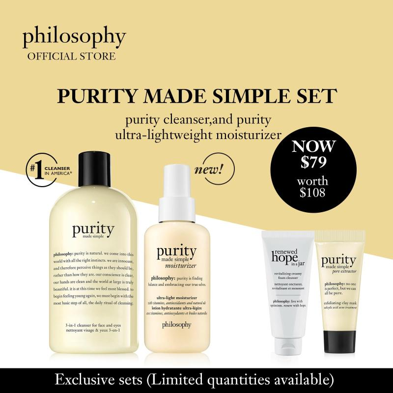 Buy Philosophy Purity Made Simple Set (worth $108) Singapore