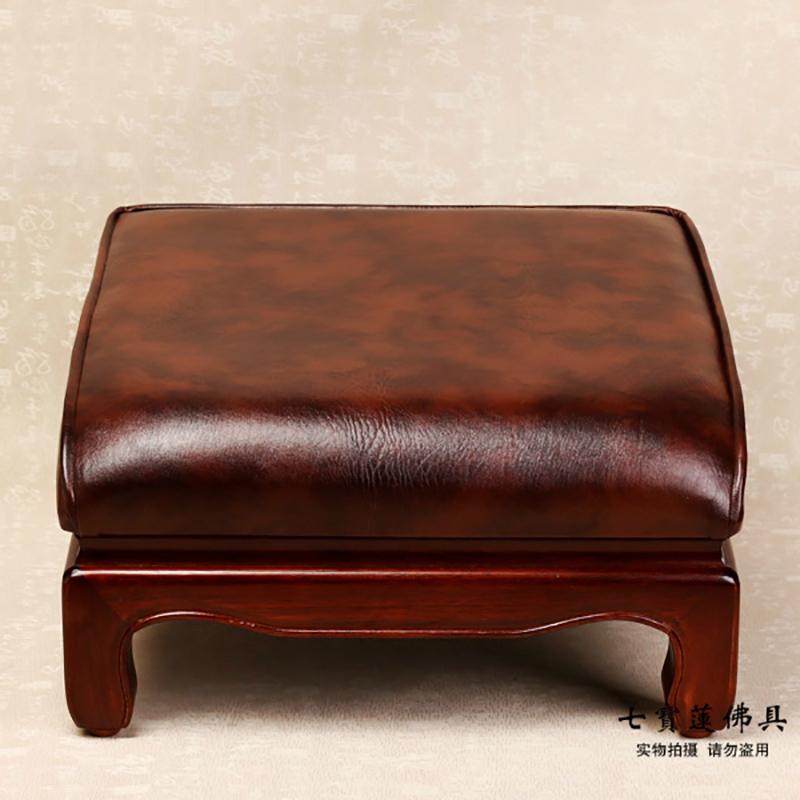 Skin pure solid wood legs bai dian chair