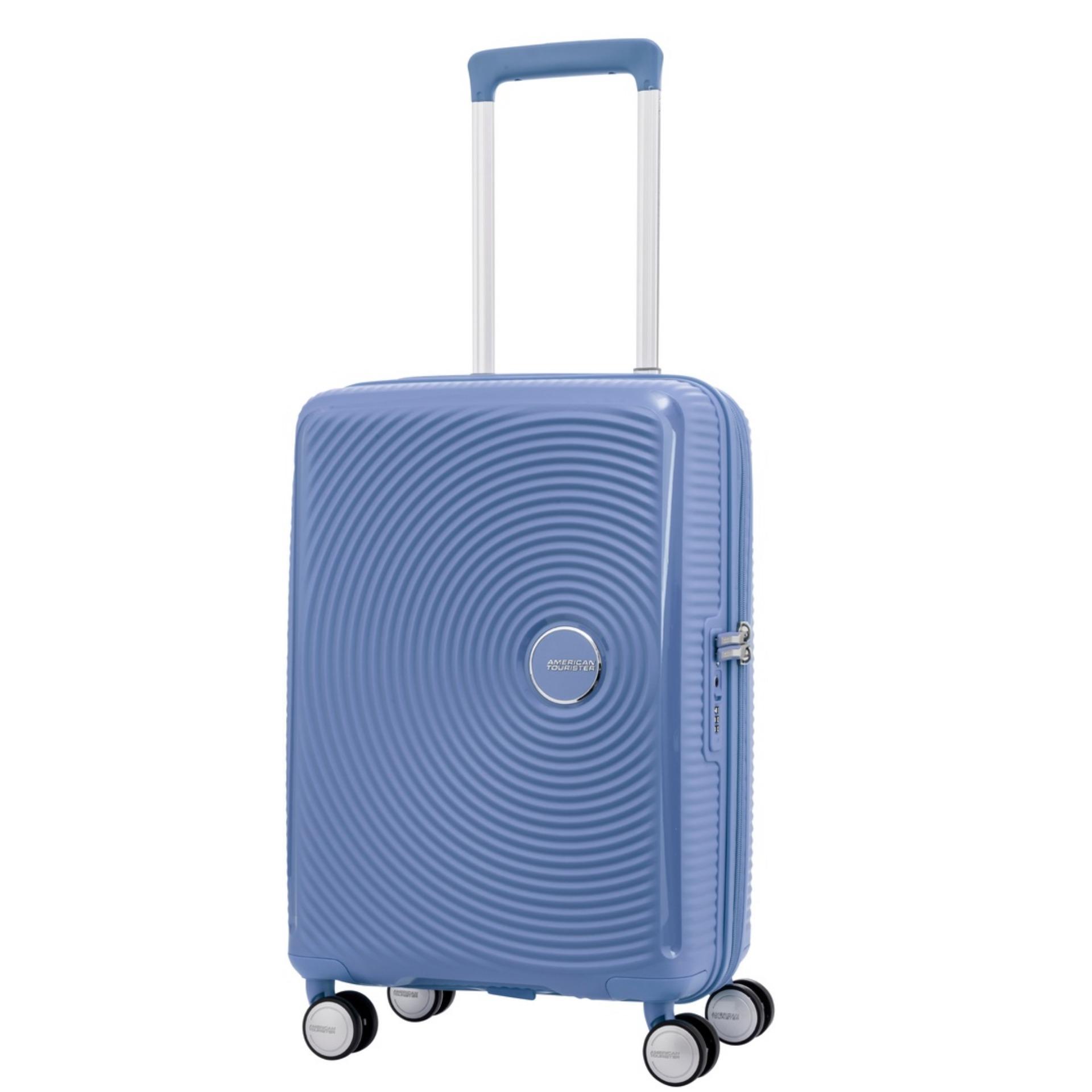 Sale American Tourister Curio Spinner 55 20 Tsa Denim Blue On Singapore