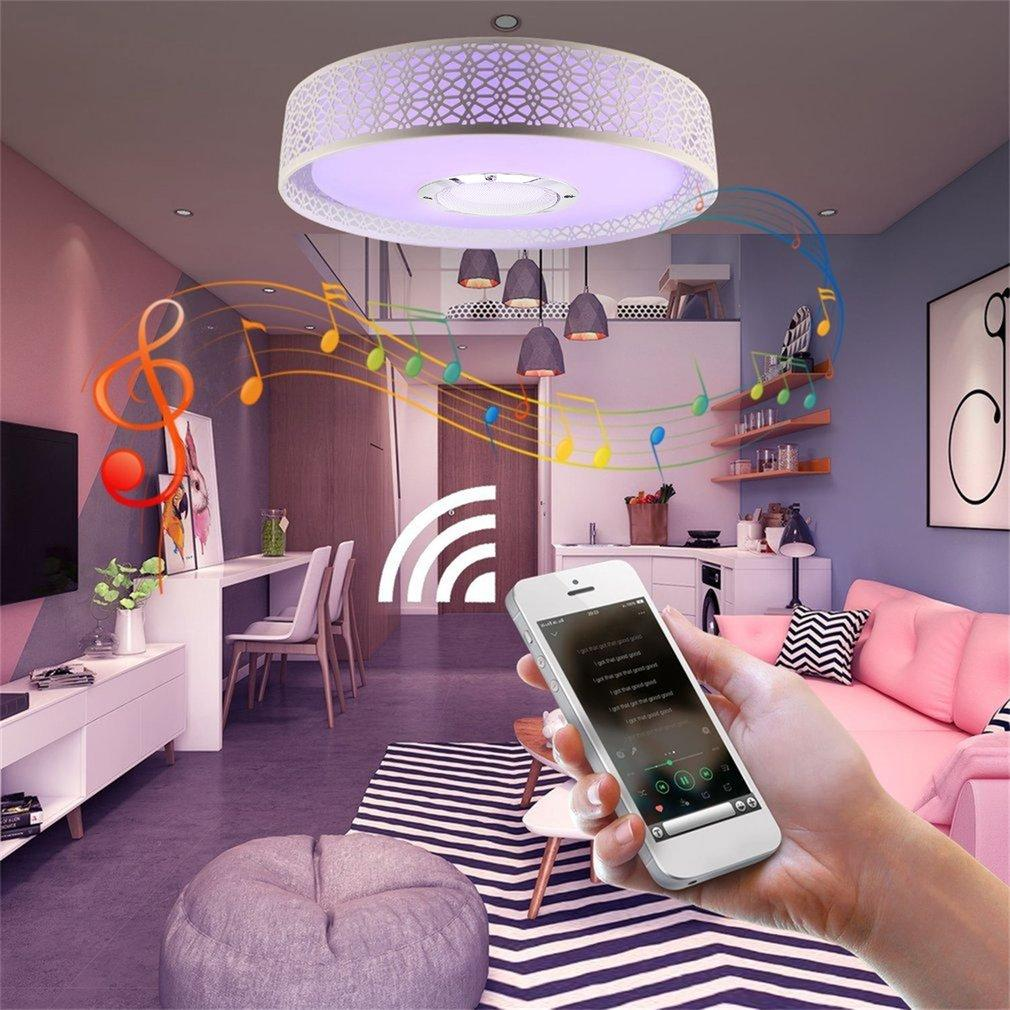 Who Sells Kaka Bluetooth 4 Music Led Ceiling Light Music Color Changing With App Control The Cheapest