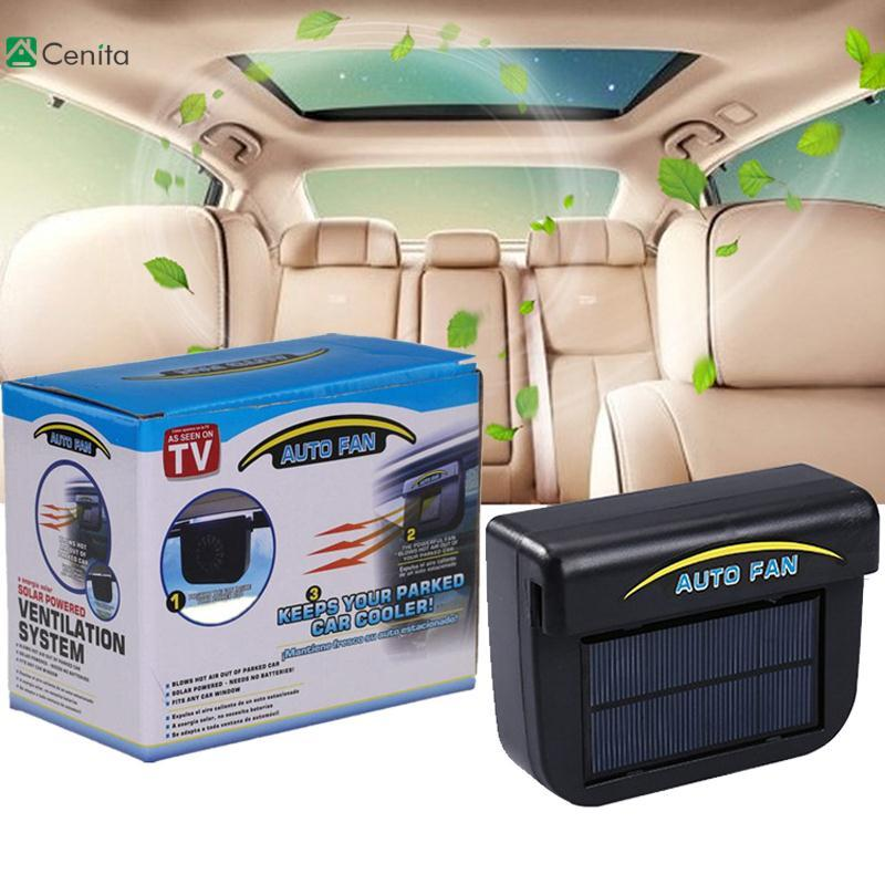 Car Full Automotive Adjustable Mini Air Conditioning Solar Engery Cooling Fan