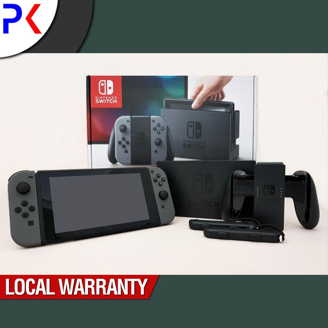 Price Comparisons Of Nintendo Switch Console With Grey Joy Con Asia