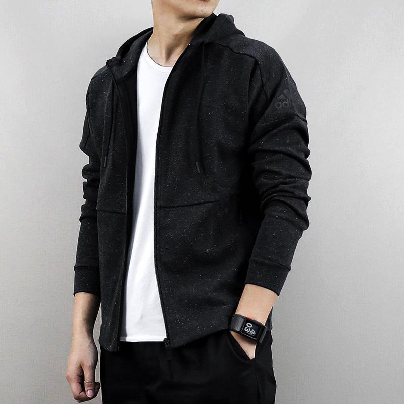 1ef580b54e06 Adidas Men s Wear 2019 Summer Sports Clothing Knitted Simple Leisure Jacket  BQ1648