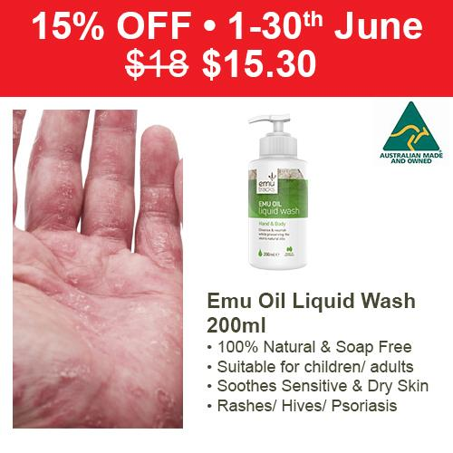 Low Cost Emu Tracks Emu Oil Liquid Hand Body Wash 200Ml