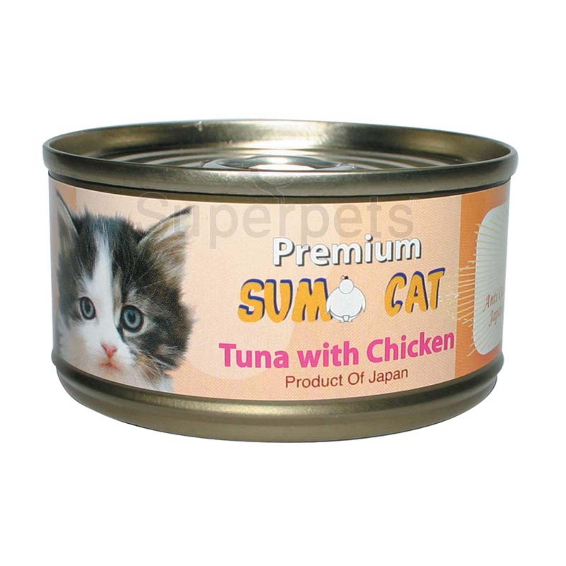Sale Sumo Cat Tuna With Chicken 80G 24Pcs Singapore Cheap