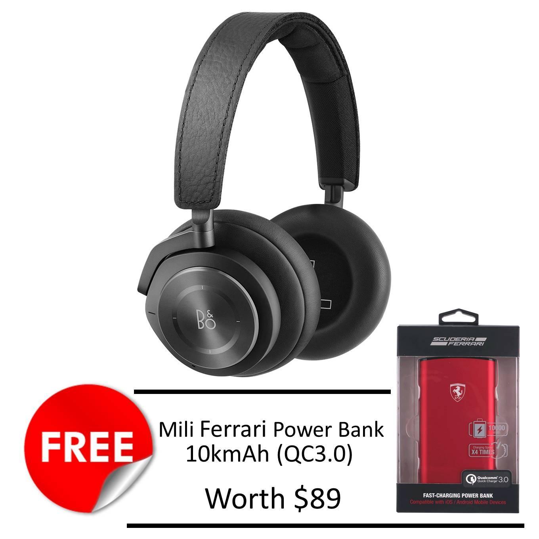 B O Beoplay H9I Noise Cancellation Headphone Black Free Mili Ferrari 10K Mah Powerbank Shop