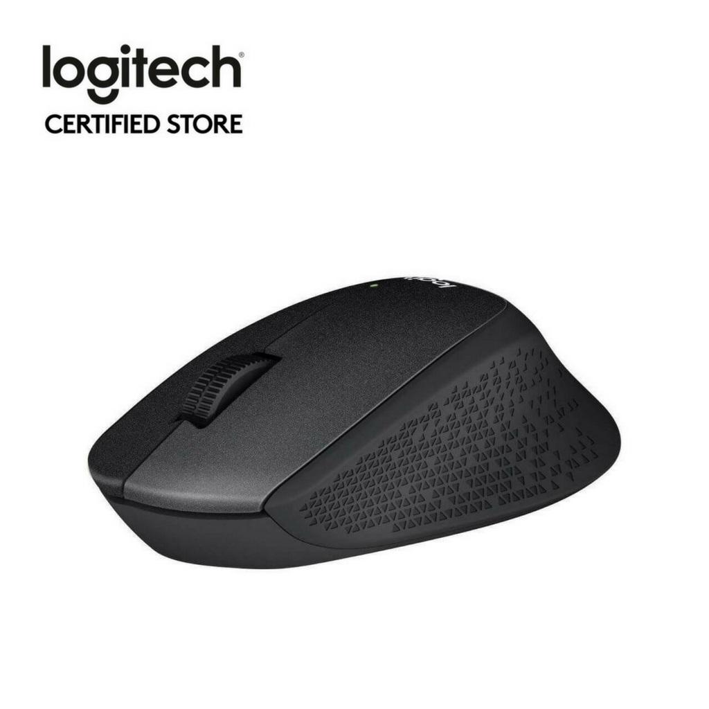 Review Logitech M331 Black Wireless Silent Plus Mouse With Rubber Grip No Click Sound Singapore