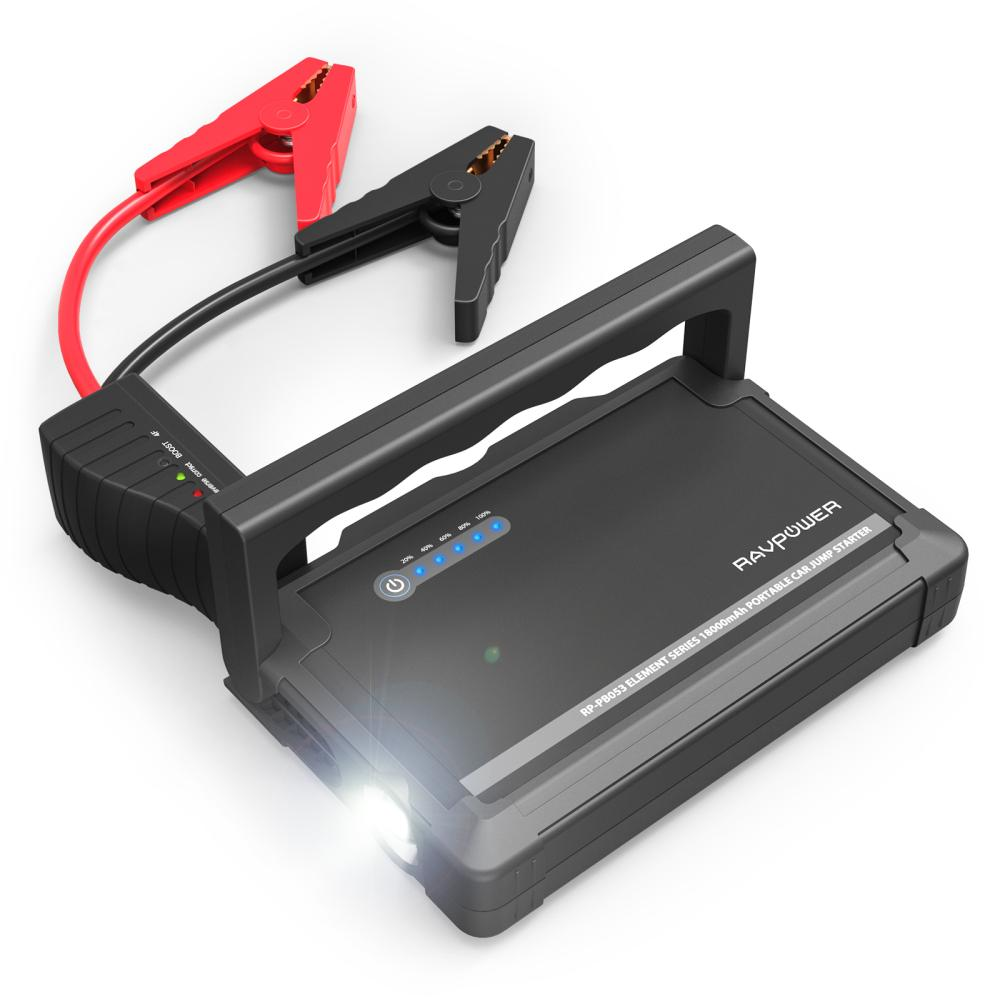 Compare Ravpower 18000Mah Car Jump Starter 600A Peak Current Rp Pb053 Prices