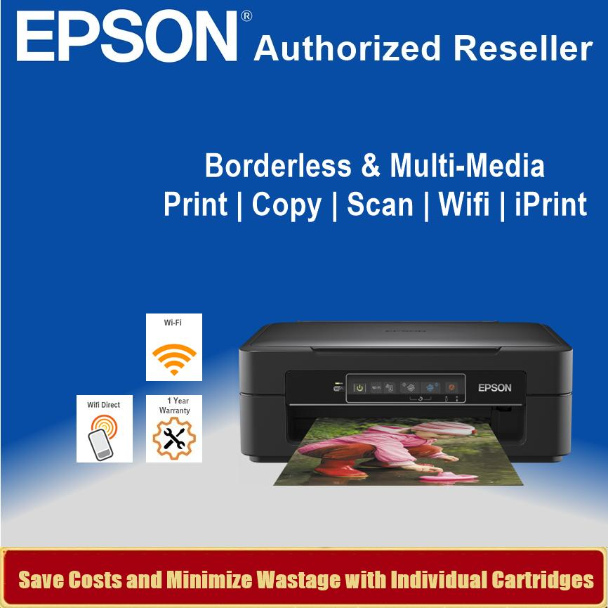 [Singapore Warranty] Epson Expression Home XP-245 Inkjet All-in-One Printer  XP 245 Singapore