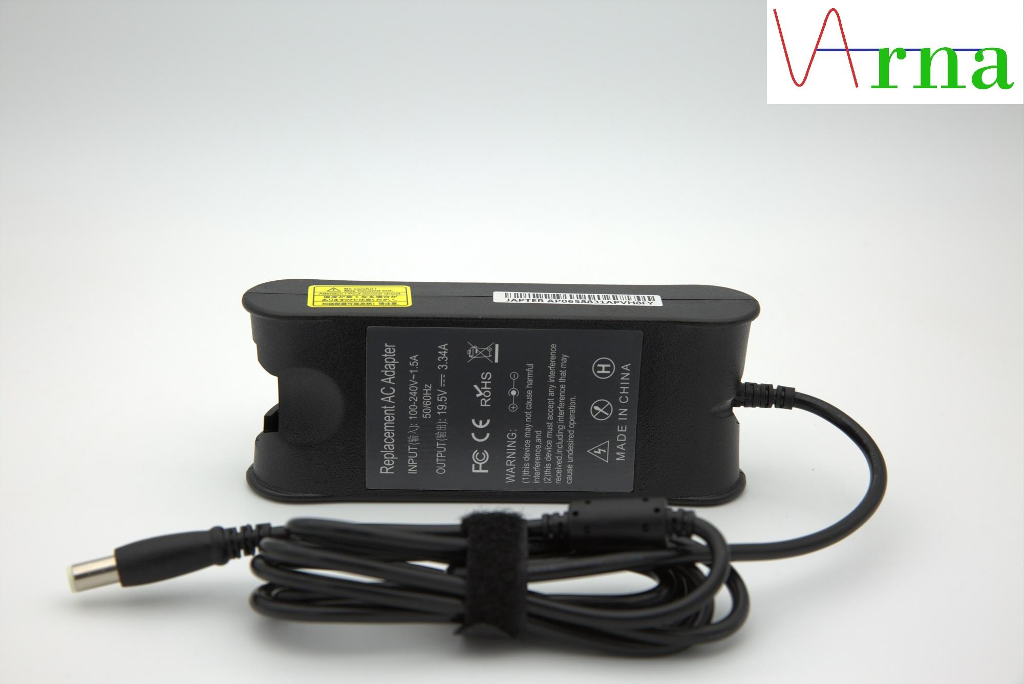 Dell 19.5v 3.34a 65w (7.4*5.0mm) Laptop Charger for Dell Inspiron 11 11Z-1121 1320 13Z-5323 14-3420 1440 14R-5421 14Z-5423 15-3520 15-3521 15-7537 15R-5520 15R-5537 17 17-3721 5425 M4110 M421R;Dell studio 1535; Dell Precision M20, M60, M65, M70, M140