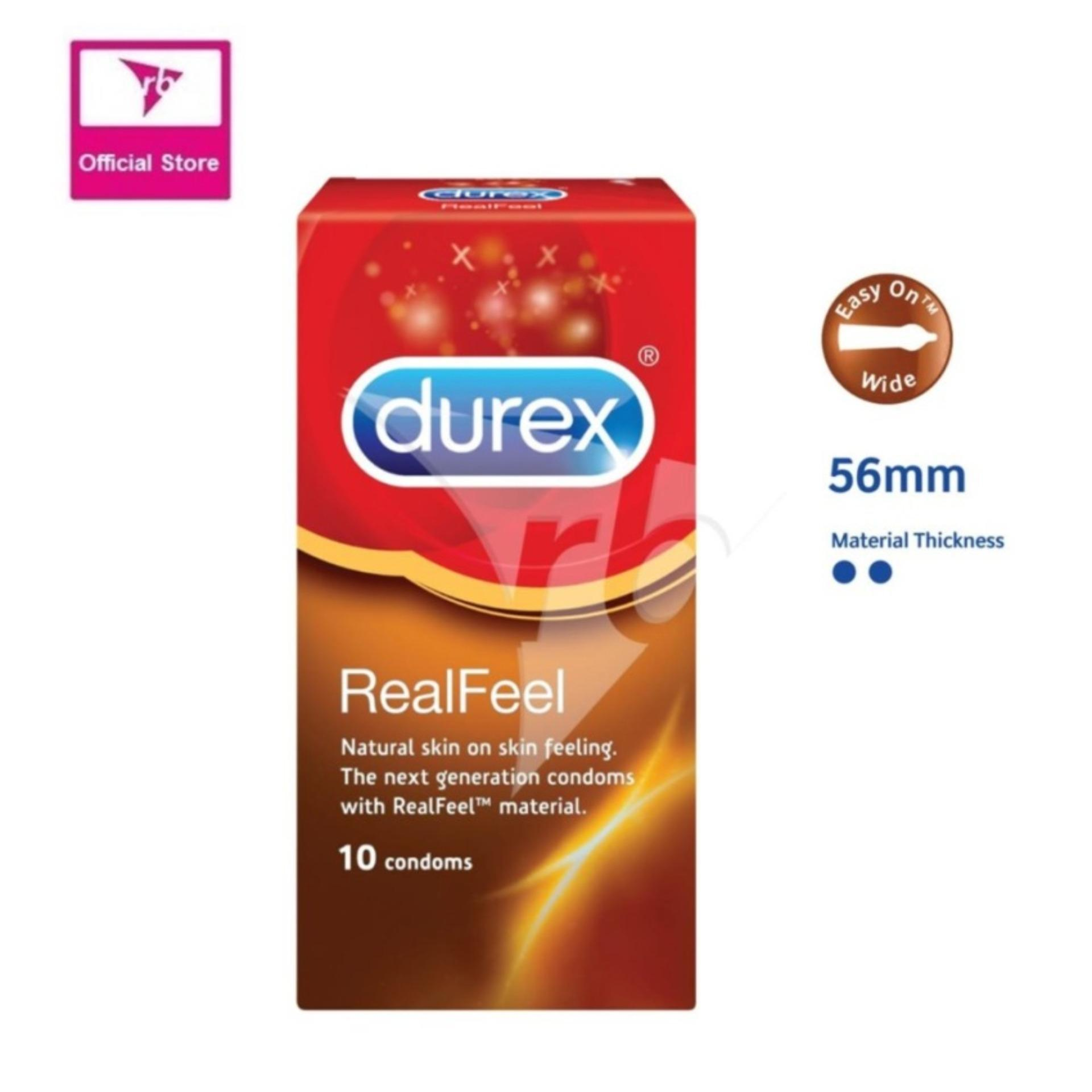 Durex Realfeel Condoms 10S Singapore