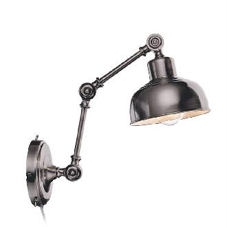 MARKSLOJD GRIMSTAD SILVER WALL LAMP  - DELIGHT