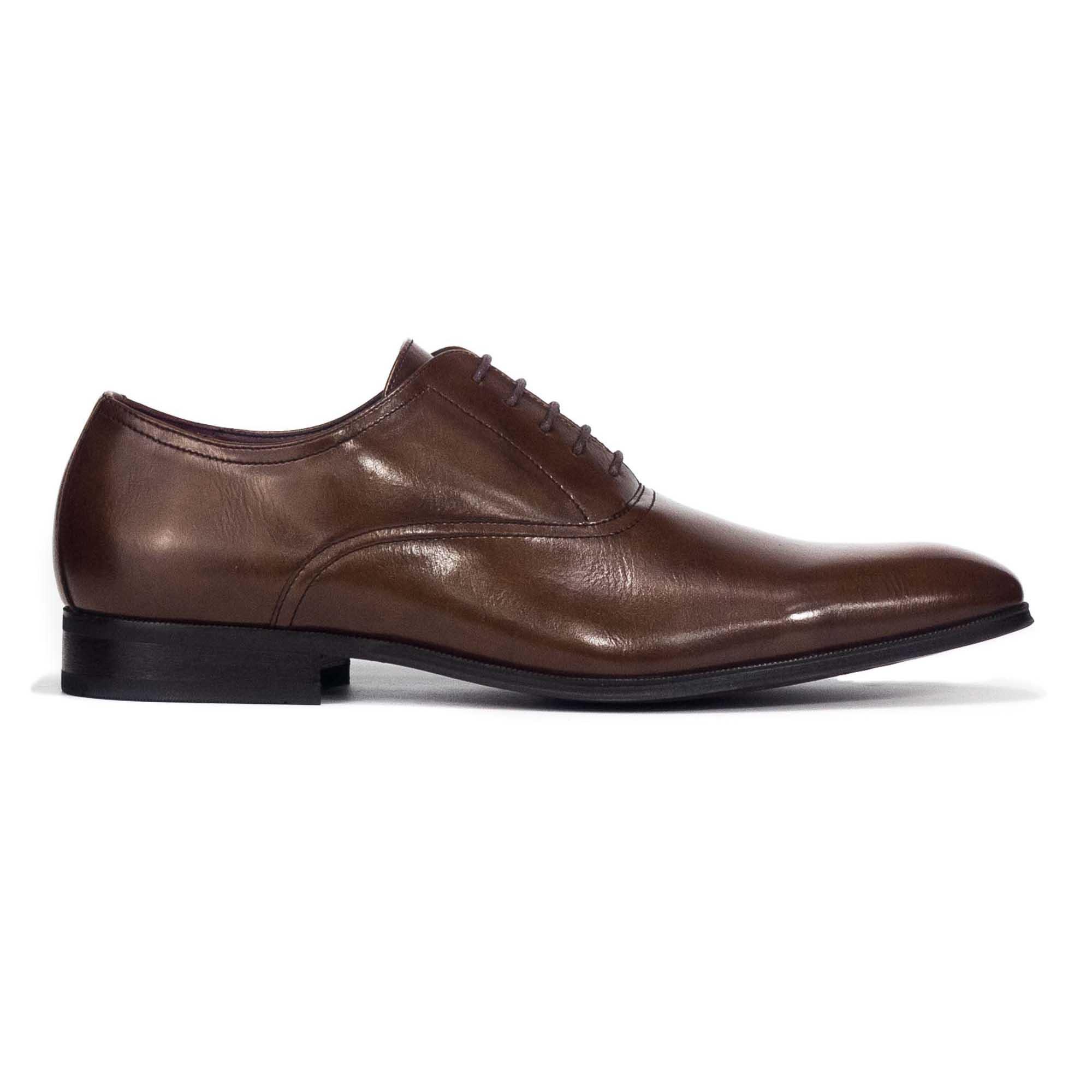 Discounted Bata Men Oxford Slip On Brown 8214003