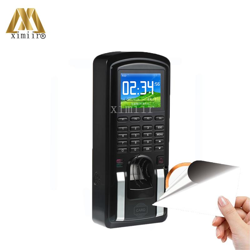 MF151 TCP/IP Biometric Fingerprint Access Control Systems Door Access Control With MF Card Reader Standalone Access Controller
