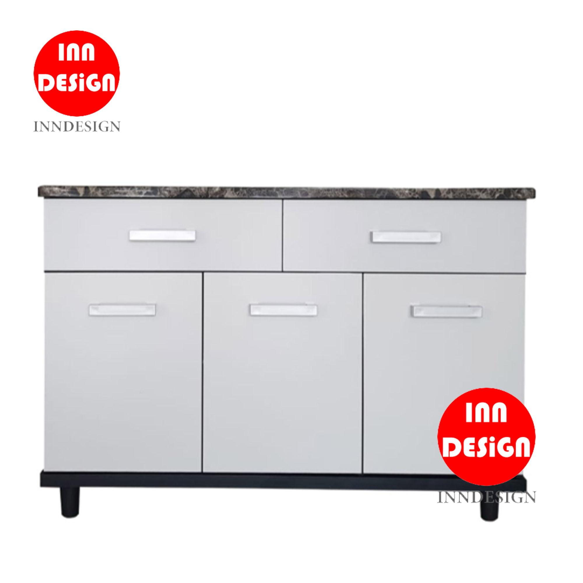 Aurora 3 Doors with 2 Drawers Kitchen Cabinet