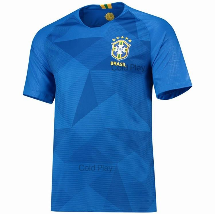 Compare Price Brazil Jersey 2018 World Cup Brazil National Team Home And Away Football Jersey T Shirt For Woman On China