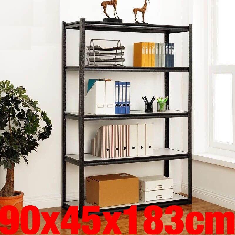 UMD Super heavy duty bookshelf book shelf storage rack steel rack with height adjustable shelf(refer to pics for sizes, ignore the color family code)