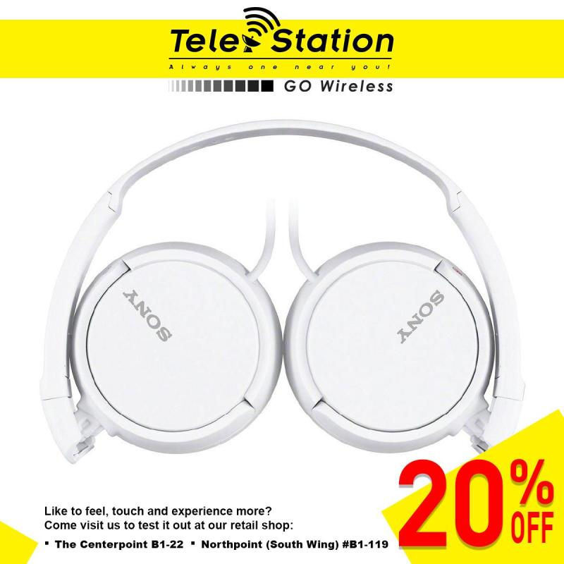 SONY MDR-ZX110AP Stereo Headphones/ Headset (20% OFF) Singapore