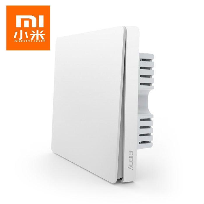 Xiaomi Aqara Wall Switch Smart Light Control ZigBee Version-(Single Key)