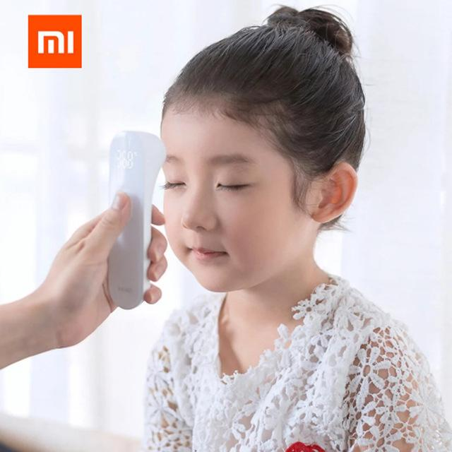 ★New Arrive★ Xiaomi Mijia Ihealth Thermometer Non Contact Instant Read Fever Sensor Led Screen Shop