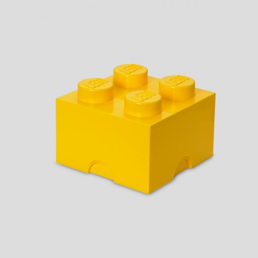 LEGO Storage Brick 4 (Yellow)
