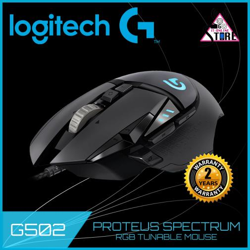 Price Compare Logitech G502 Proteus Spectrum Rgb Tunable Gaming Mouse