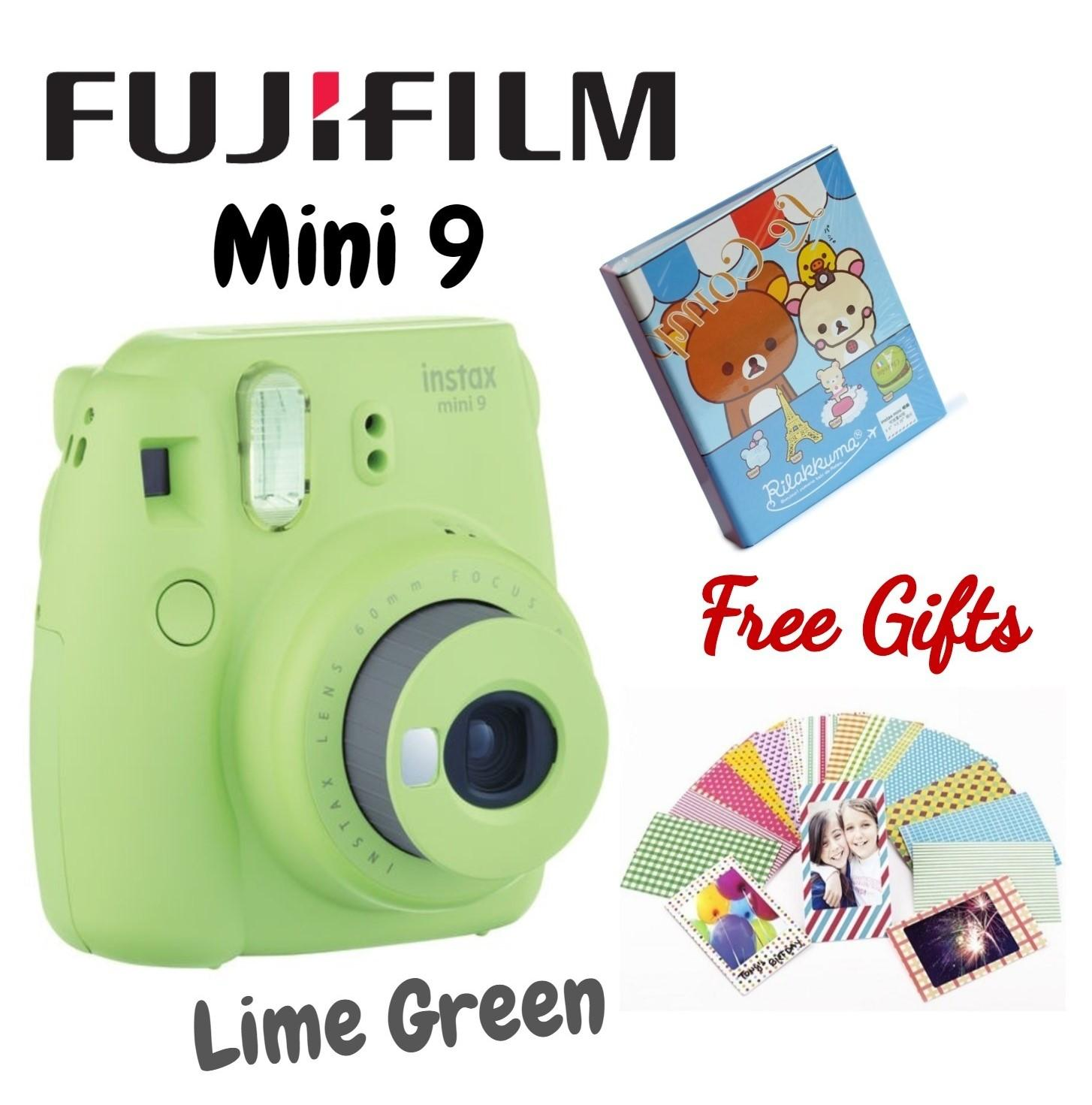 Buy Fujifilm Intax Camera Dslr Lazada X T2 Body Only Xf 56mm F12 Instax Mini 9 Instant Film Lime Green With Free 1 Album And