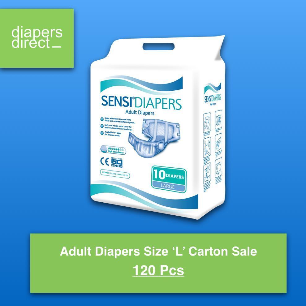 Sensi Pads Underpads 10 Pcs Uk Large Daftar Harga Terbaik Terkini Sensipad Pad Underpad Isi Adult Diapers Size Carton 120 Pieces Per 12 Packs
