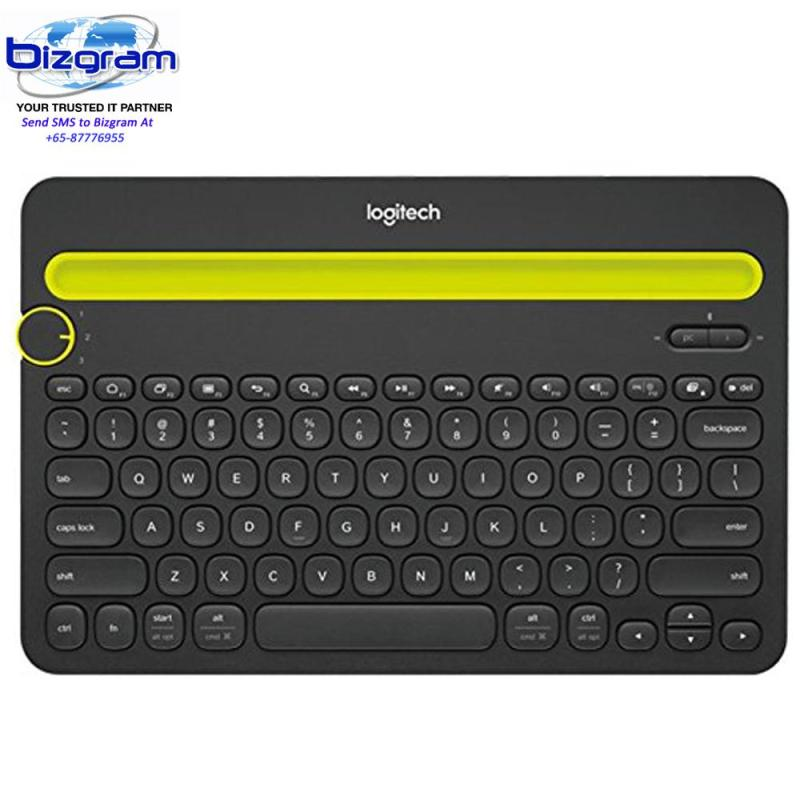 Logitech K480 Bluetooth Multi Device Keyboard - Black 920-006380 Singapore