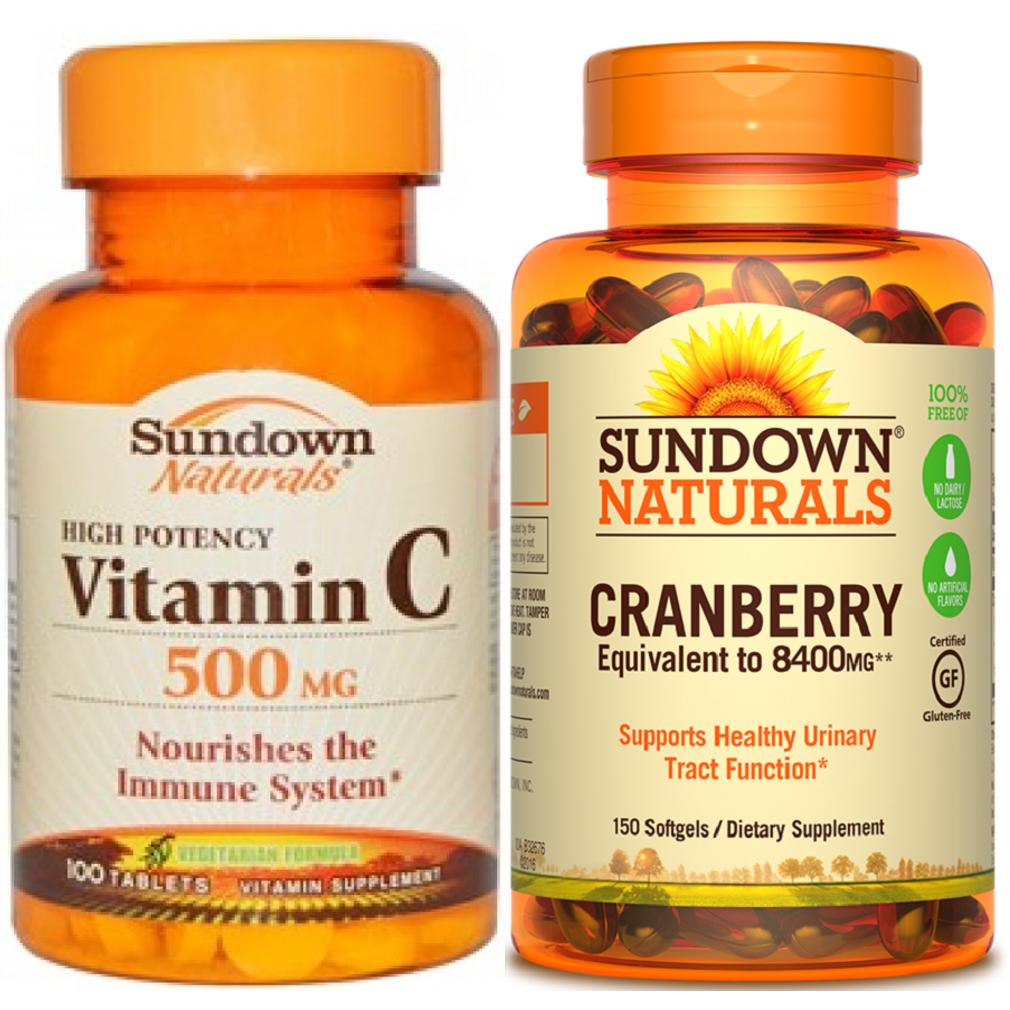 Who Sells Healthy Urinary Tract 1 Sundown Naturals Vitamin C And Cranberry The Cheapest
