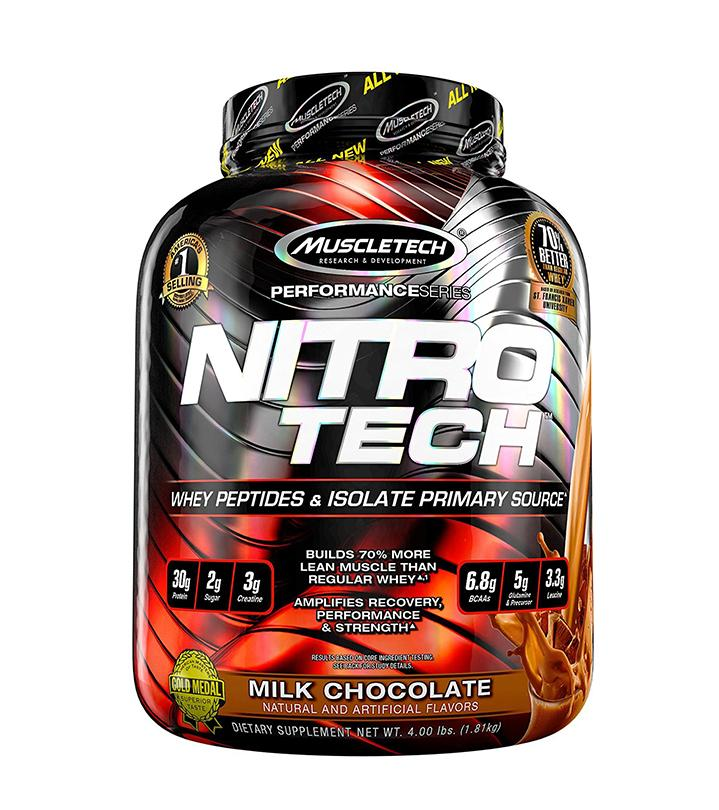 Buy Muscletech Performance Series Nitrotech 3 97Lbs Milk Chocolate Muscletech