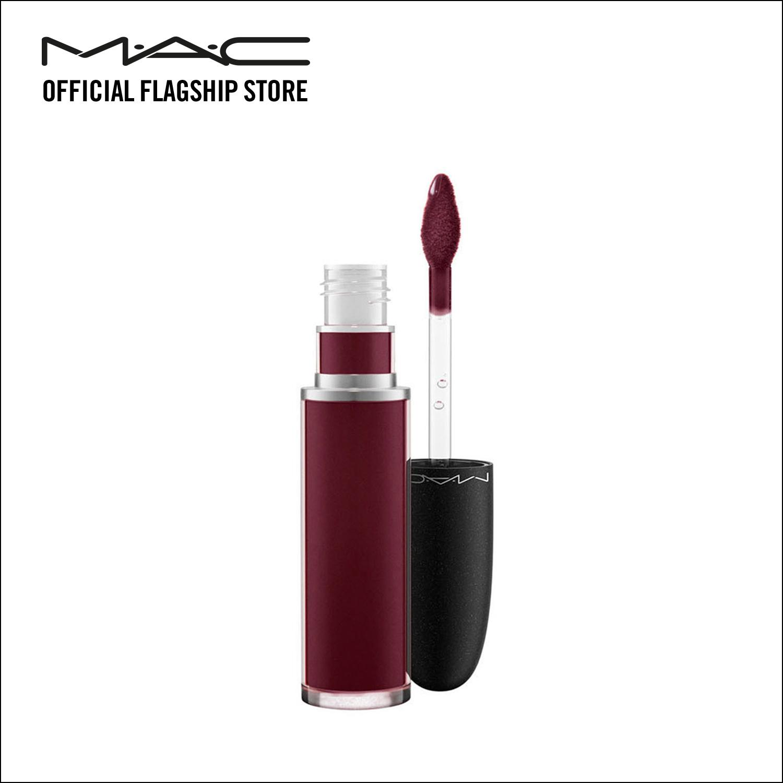 Mac Retro Matte Liquid Lip Colour High Drama Review