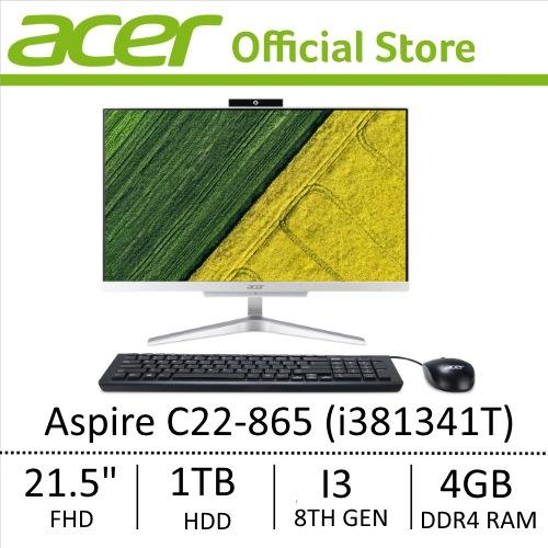 Sale Acer Aspire C22 865 I381341T All In One Desktop New Model Online Singapore