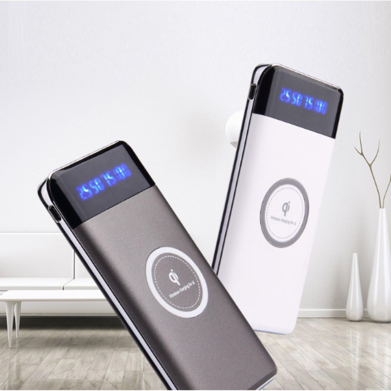 Buy Cheap Qi 10000Mah 3 In 1 Wireless Charging Portable Power Bank